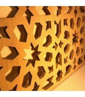 CNC - Lattice cutting - MDF woodwork - 1